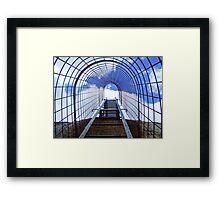 The climbing cage, Castle Rock, Western Australia Framed Print