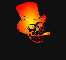 Skull in Top Hat by Chillee Wilson T-Shirt