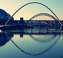 bridges - Newcastle upon tyne by Aneira
