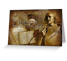 Shakespeare Greeting Card