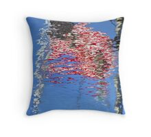 Reflecting Our Flag Throw Pillow