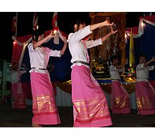 Shan girls dancing Photographic Print