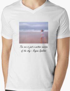 The Sea and the Sky Mens V-Neck T-Shirt
