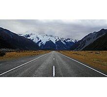 Mt Cook - Lake Pukaki Photographic Print
