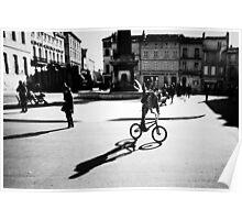 Sunny Plaza - Arles, France - 2010 Poster