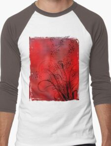 Abstract Digital Background Men's Baseball ¾ T-Shirt