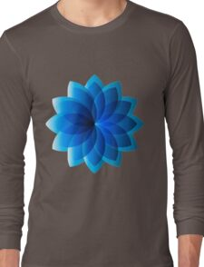 Abstract Digital Star Long Sleeve T-Shirt