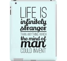 Life is infinitely.... iPad Case/Skin