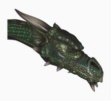 Digital Dragon Head by queensoft