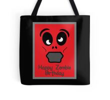 Happy Zombie Birthday by 'Chillee Wilson' Tote Bag