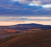Sunset over Mount Barker Summit - Adelaide Hills by Mark Richards