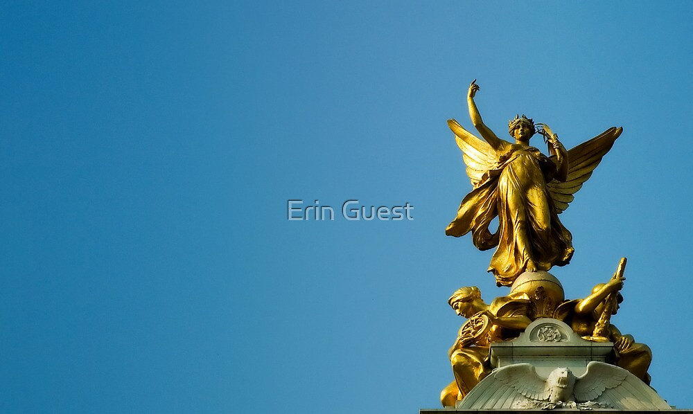 Victoria Memorial - London by Erin Guest