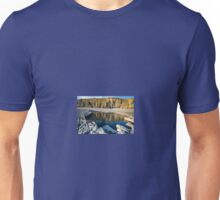 Cliff Reflections at Colhugh Beach, south Wales. UK Unisex T-Shirt