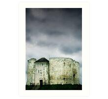 Cliffords Tower - York Art Print