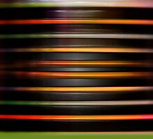 Horizontal plastic lines by Martine Affre Eisenlohr