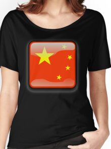 Chinese Flag Icon Women's Relaxed Fit T-Shirt