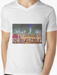Outback At The Races Australia; SOLD Mens V-Neck T-Shirt