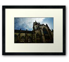 St Giles Cathedral - Edinburgh Framed Print