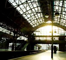Manchester Station by Erin Guest