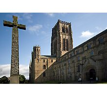 Durham Cathedral and The Cross Photographic Print