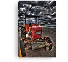 Greek Tractor Canvas Print