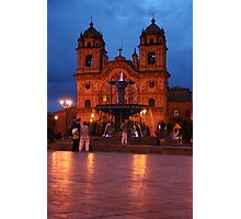 Cuzco Night Photographic Print