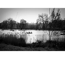 The Regents Park - Black and White Photographic Print