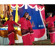 Shan girls dancing - 5 Photographic Print