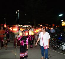 Shan parade at night festival by fabianfred