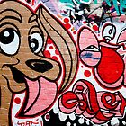 Graffiti dog by yurix
