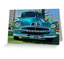Modified FJ Holden at Wigley Reserve Greeting Card