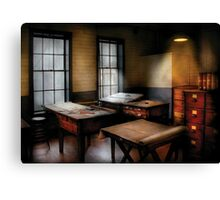 Draftsman - The Drafting room Canvas Print