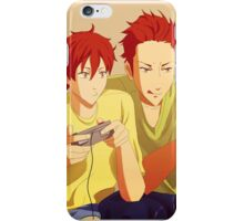 Mikoshiba brothers iPhone Case/Skin