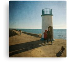 Sea Walkers Canvas Print