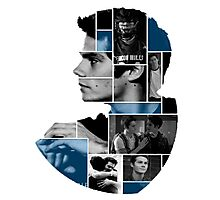 Dylan O'Brien Squares Photographic Print