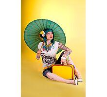 Amber Dreams Photographic Print