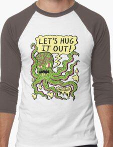 Lets Hug It Out Men's Baseball ¾ T-Shirt