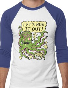 Lets Hug It Out Men's Baseball ¾ T-Shirt