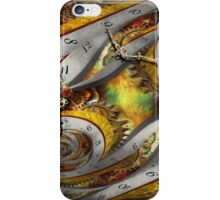 Steampunk - Spiral - Space time continuum iPhone Case/Skin