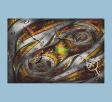 Steampunk - Spiral - Space time continuum Kids Tee