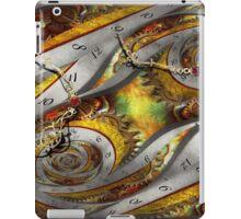 Steampunk - Spiral - Space time continuum iPad Case/Skin