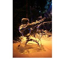 Frozen archer Photographic Print
