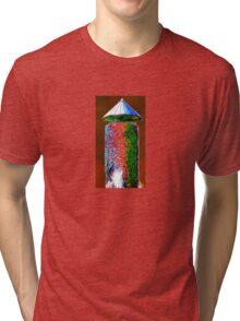 funky tower Tri-blend T-Shirt