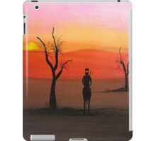 """Ned Kelly Sunset"" Australia; iPad Case iPad Case/Skin"