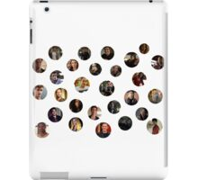 Teen Wolf Cast Dots iPad Case/Skin