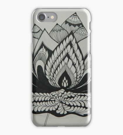 Lotus Adorned iPhone Case/Skin
