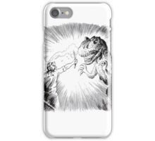 The Lost World, an Allosaurus comes close to camp. iPhone Case/Skin
