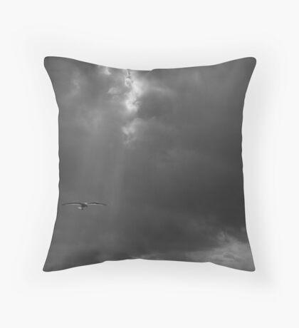 Heavenly Gull Throw Pillow