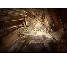 Steampunk - Naval - The escape hatch Photographic Print