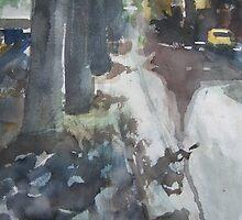 On the pavement by Catrin Stahl-Szarka
